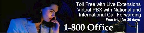 Toll Free 800 Service Plans for Business