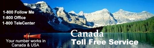 Canadian toll free number